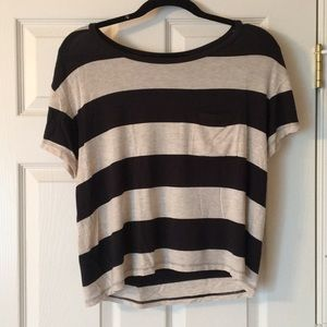 AE striped top
